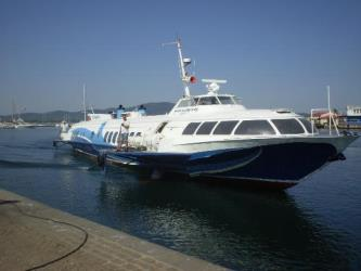 Exterior of Bulgaria Fast Ferry