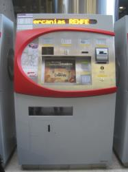 Cercanias Ticket machine