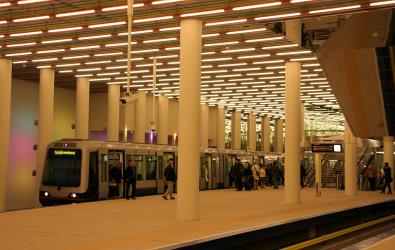 At Rotterdam central