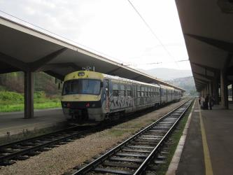 ŽFBH passangers train
