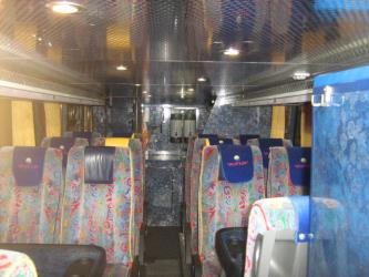 Bozur bus interior