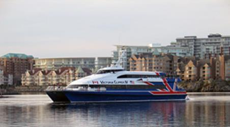 Exterior of Victoria Clipper Ferry