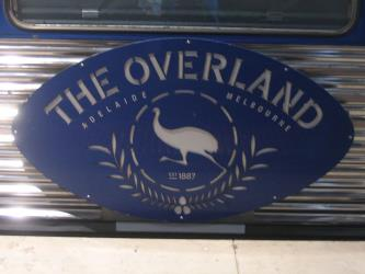 The Overland logo