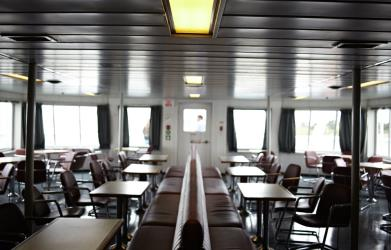 Interior of Northumberland Ferries