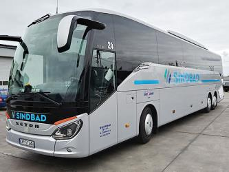 Setra 59 seater bus