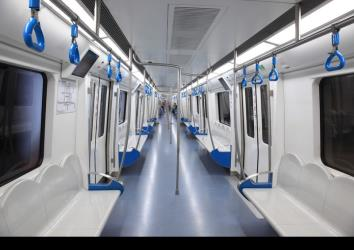 Guangfo Subway interior