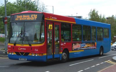 Go North East Bus Exterior