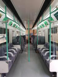London Northwestern Railway Interior