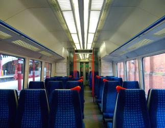 Refurbished interior or a Class 165/0 train