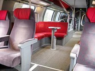 Upper deck of Intercity