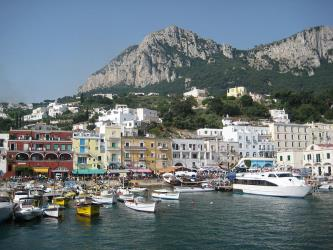 Capri Ferry Port