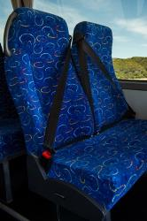57 seat bus seating