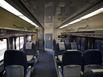 Pacific Surfliner business class