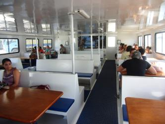 Interior of Utila Princess