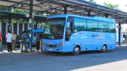 29-seater Isuzu bus
