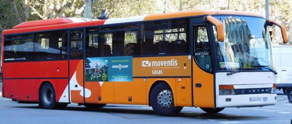 Moventis bus exterior view