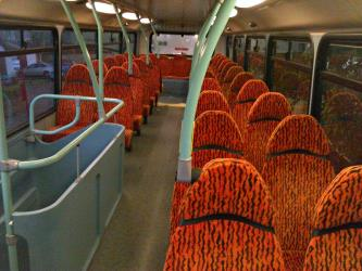 Yorkshire Tiger Bus Interior