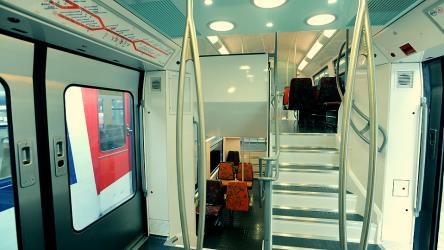 Interior of a RER E