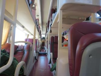 Interior of Special Bus