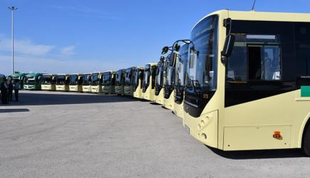 New bus fleet