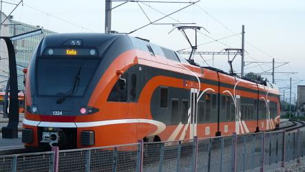 PV train in Tallinn