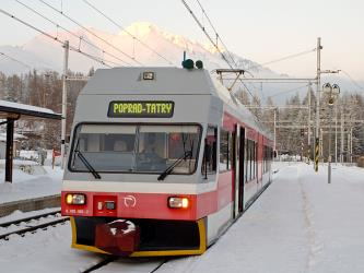 Tatra Alps train