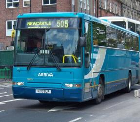 Arriva single level bus