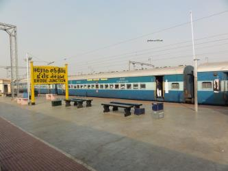 Train at the Erode Station