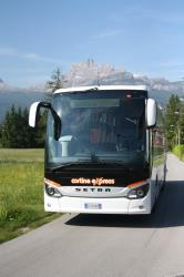Cortina Express bus front