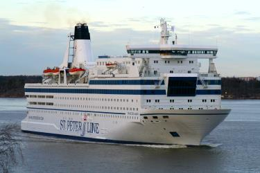 Exterior of M/S Princess Maria