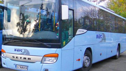 55-seater Setra bus