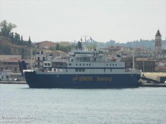 Ionas ferry side view