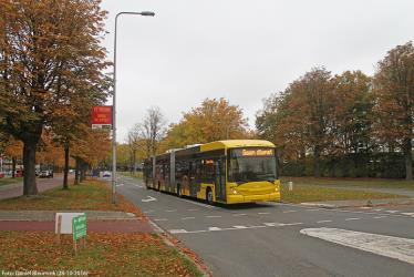 Articulated bus in Utrecht