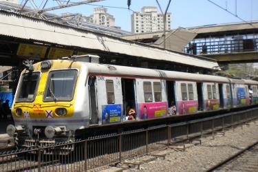 At Goregaon station Mumbai