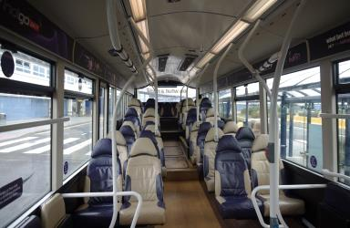 Trent Barton Bus Interior