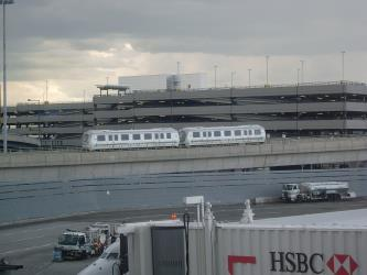 Exterior of AirTrain