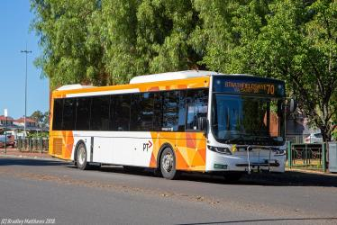 Whitmore Group bus in Bendigo