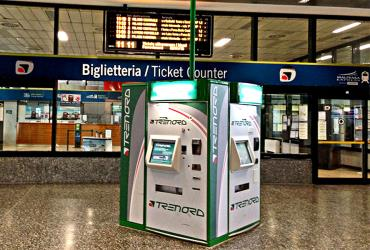 Ticket machine at Milan