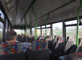 Isle Coaches Bus Interior