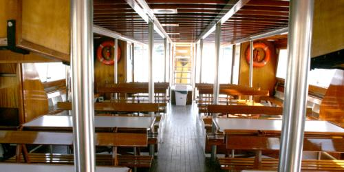 Ferry Portofino 82 interior
