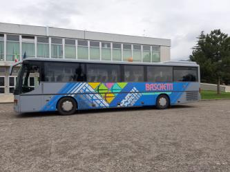 Bus side view