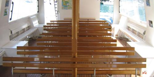 Ferry Palmaria interior seating