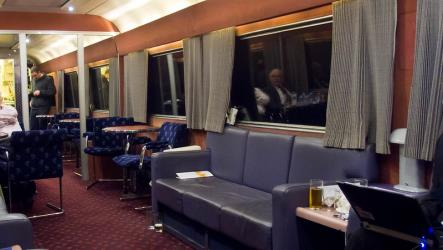 Caledonian Sleeper bar