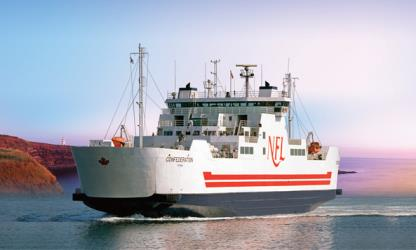 Exterior of Northumberland Ferries