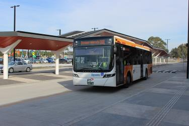 Dysons bus at Mernda Station