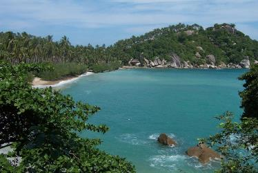 Haad Rien beach on Koh Phangan