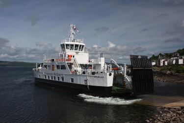 MV Lochinvar hybrid car ferry