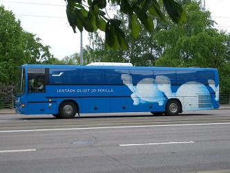 Finnair Shuttle Bus