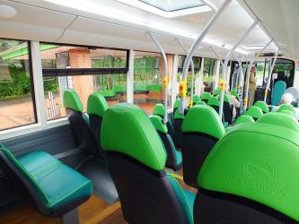 Mike De Courcey Battery Bus Seats