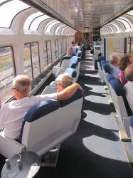 Onboard rotating seats